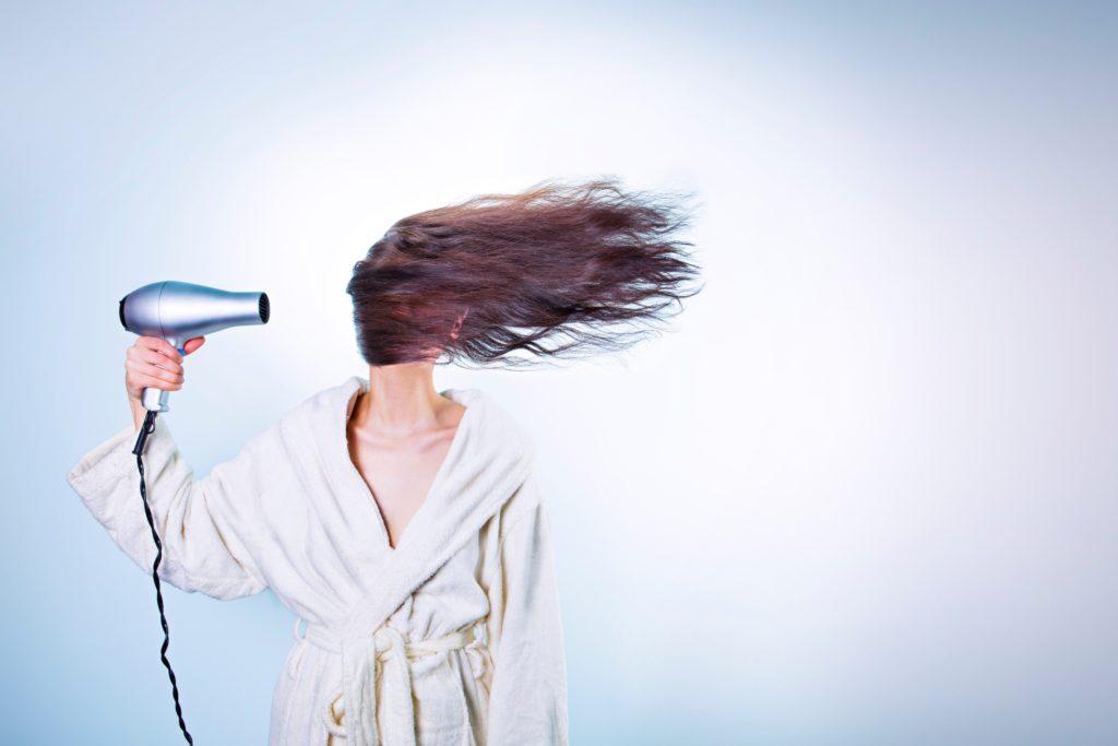 Traitement naturel pour cheveux brules